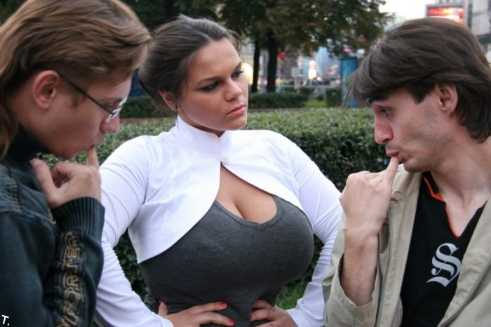 Big breast german